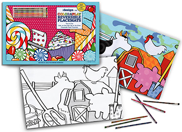 Color and Play Reversible Placemats