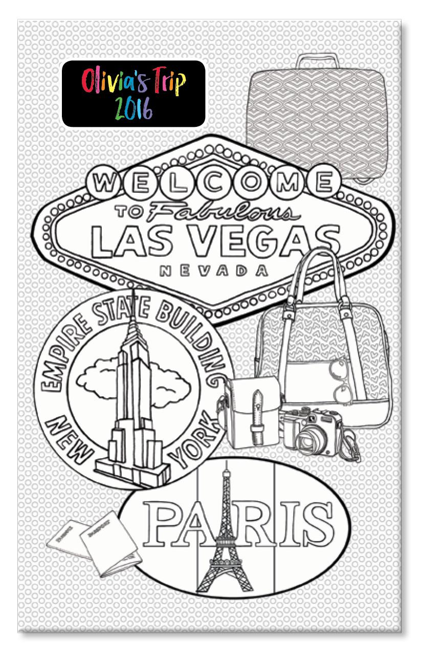Travel Doodle Journal
