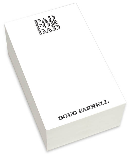 Pad for Dad